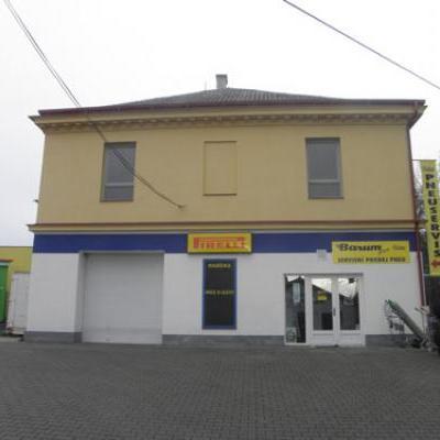 Nová budova pneuservisu